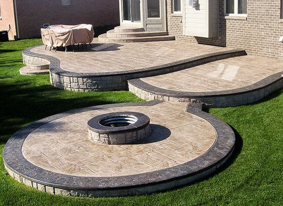 5 Benefits Of Installing A Concrete Patio Construction