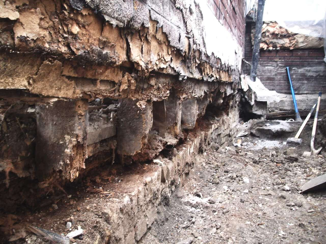 Basement-Underpinning-Contractor-Toronto-Claremont-St-7
