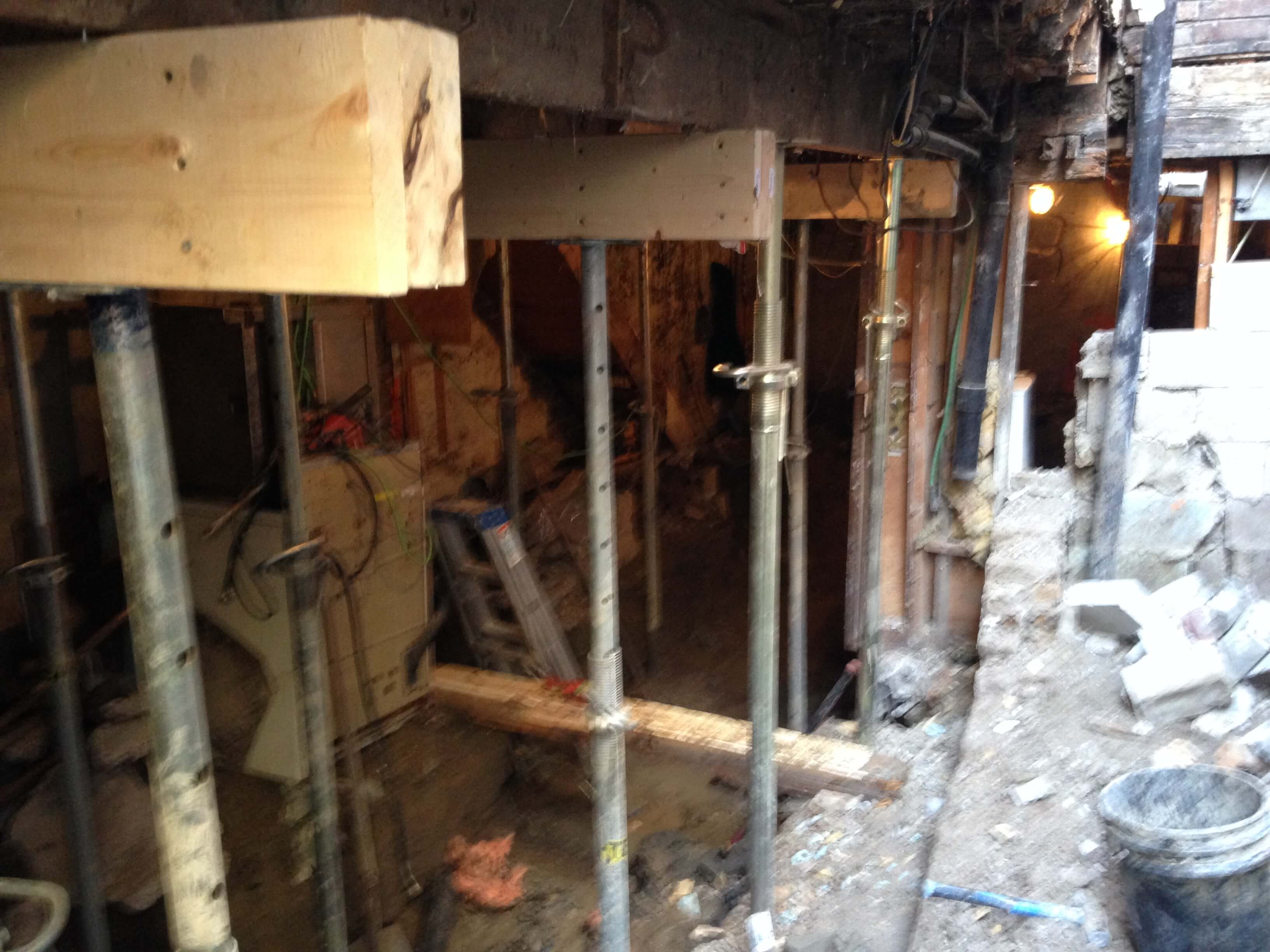 Basement-Underpinning-Contractor-Toronto-Earlscourt-Ave-4