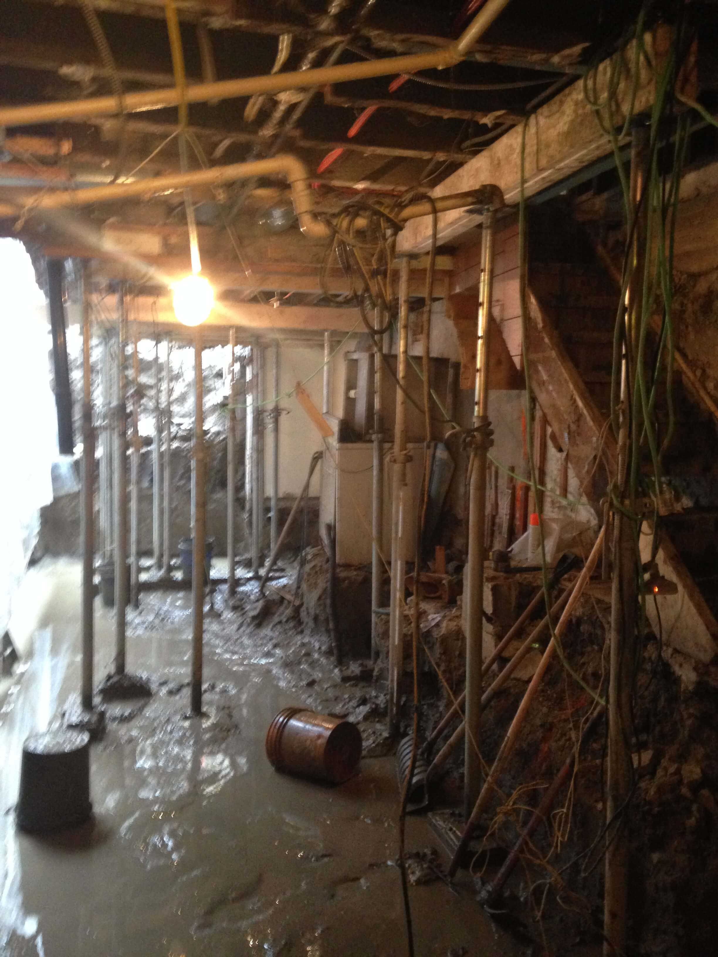 Basement-Underpinning-Contractor-Toronto-Earlscourt-Ave-5