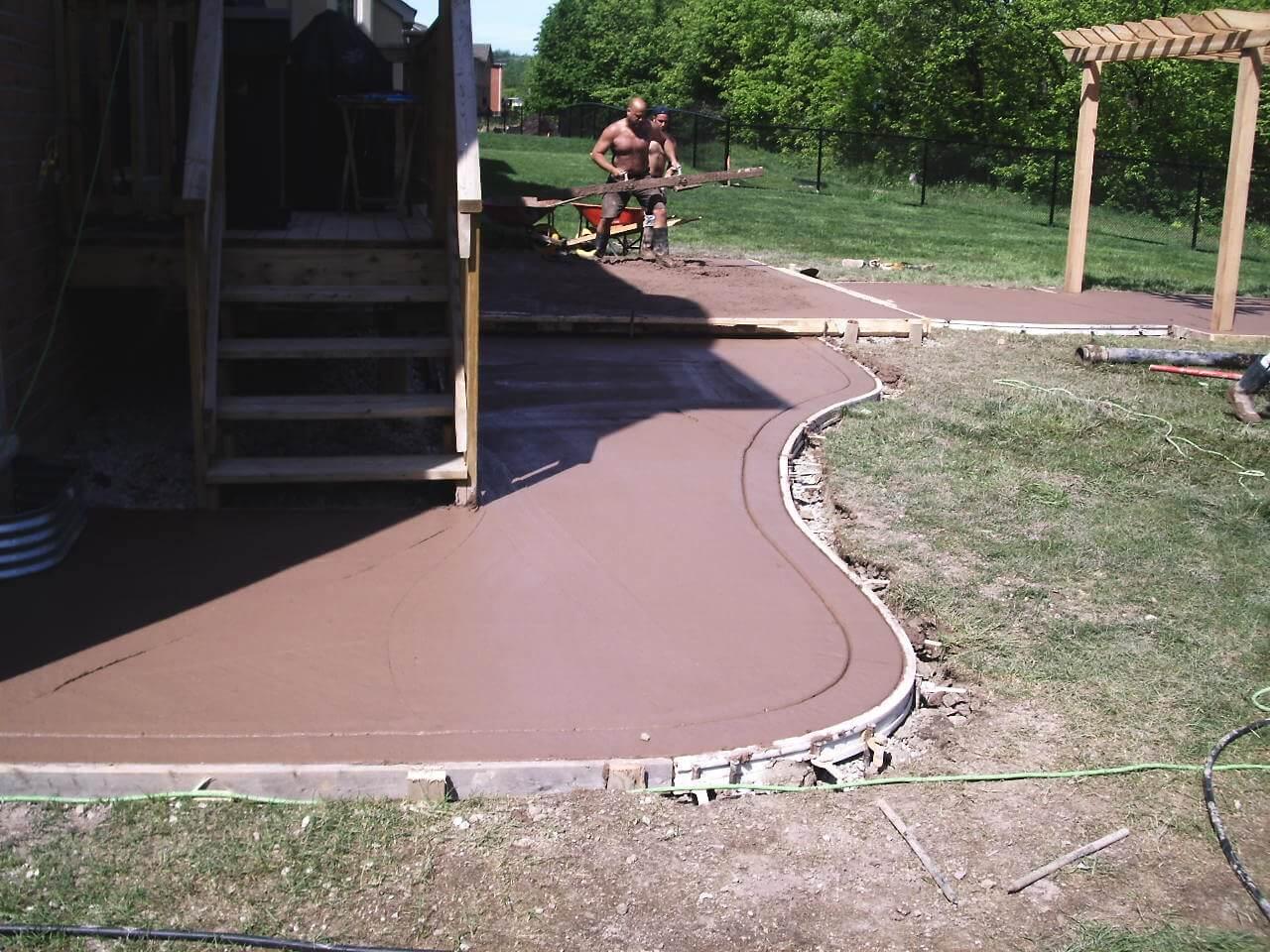 Decorative-Concrete-Construction-Contractor-Toronto-Pergola-Rd-12