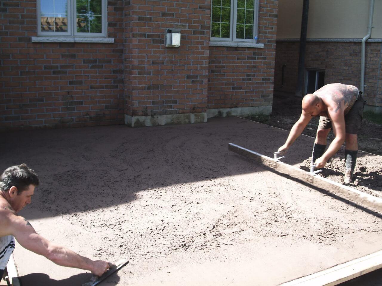 Decorative-Concrete-Construction-Contractor-Toronto-Pergola-Rd-13