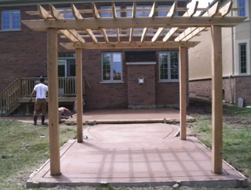 Decorative-Concrete-Construction-Contractor-Toronto-Pergola-Rd-15