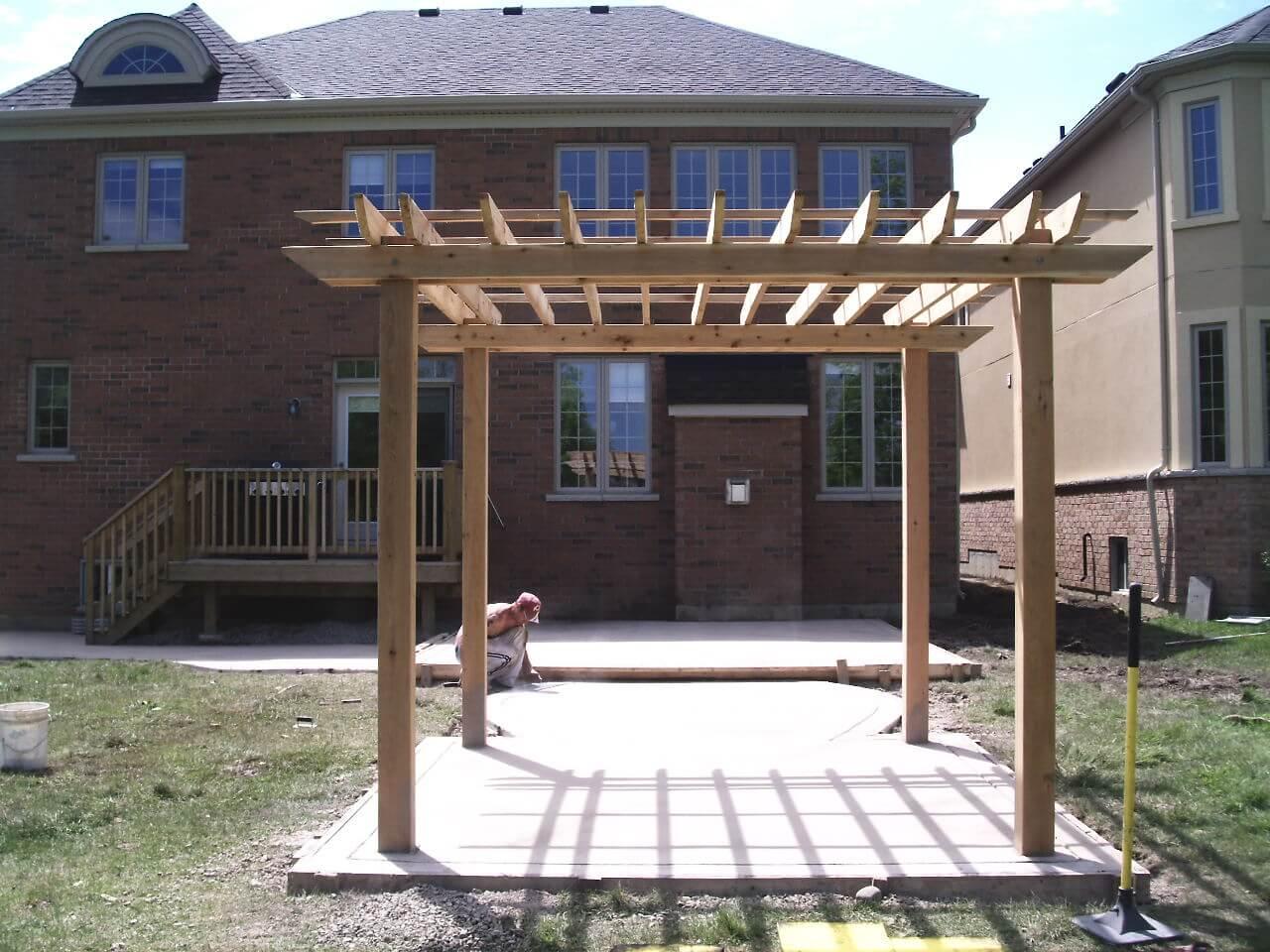 Decorative-Concrete-Construction-Contractor-Toronto-Pergola-Rd-19