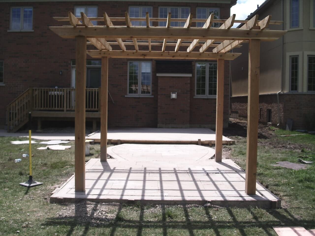 Decorative-Concrete-Construction-Contractor-Toronto-Pergola-Rd-20