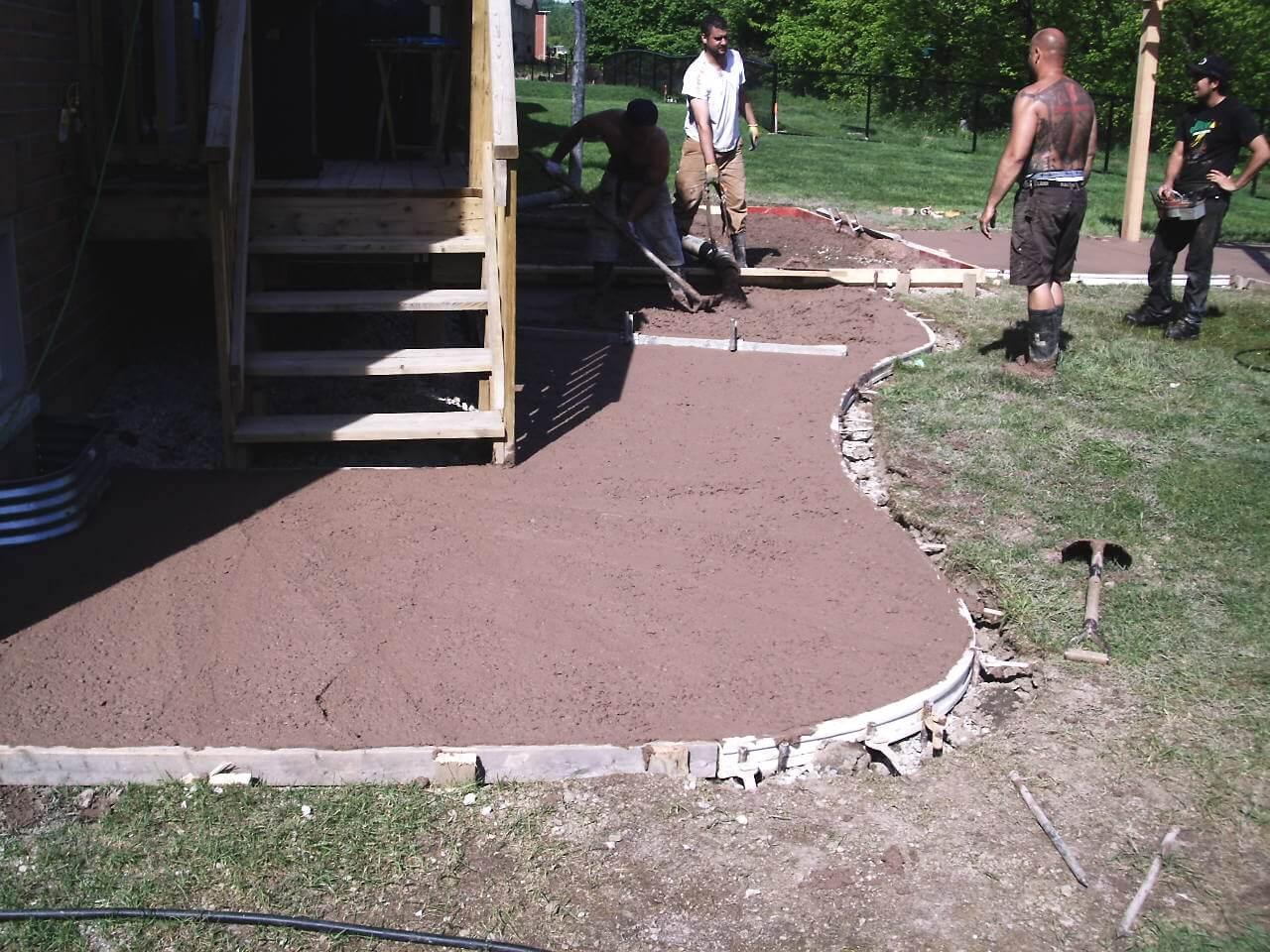 Decorative-Concrete-Construction-Contractor-Toronto-Pergola-Rd-5