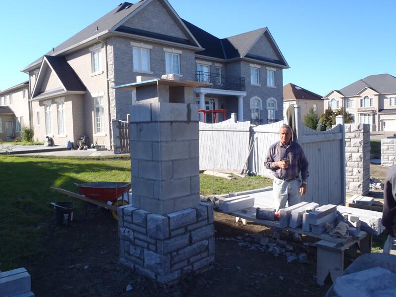 Natural-Stone-Pillar-Construction-Contractor-Vaughan-7