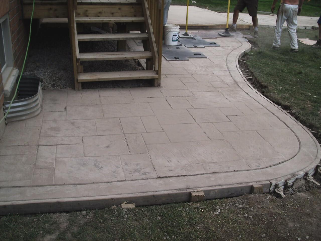 Stamped-Concrete-Construction-Contractor-Toronto-Pergola-Rd-38