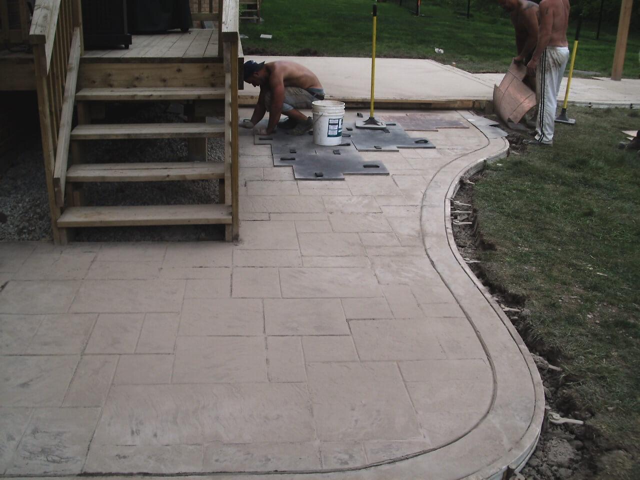 Stamped-Concrete-Construction-Contractor-Toronto-Pergola-Rd-39