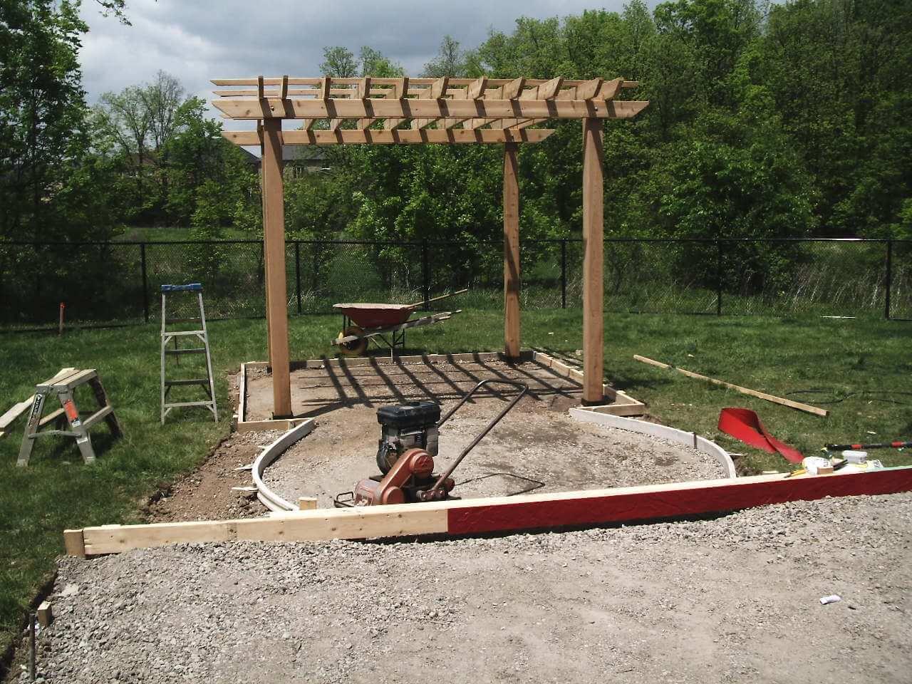 Stamped-Concrete-Construction-Contractor-Toronto-Pergola-Rd-5