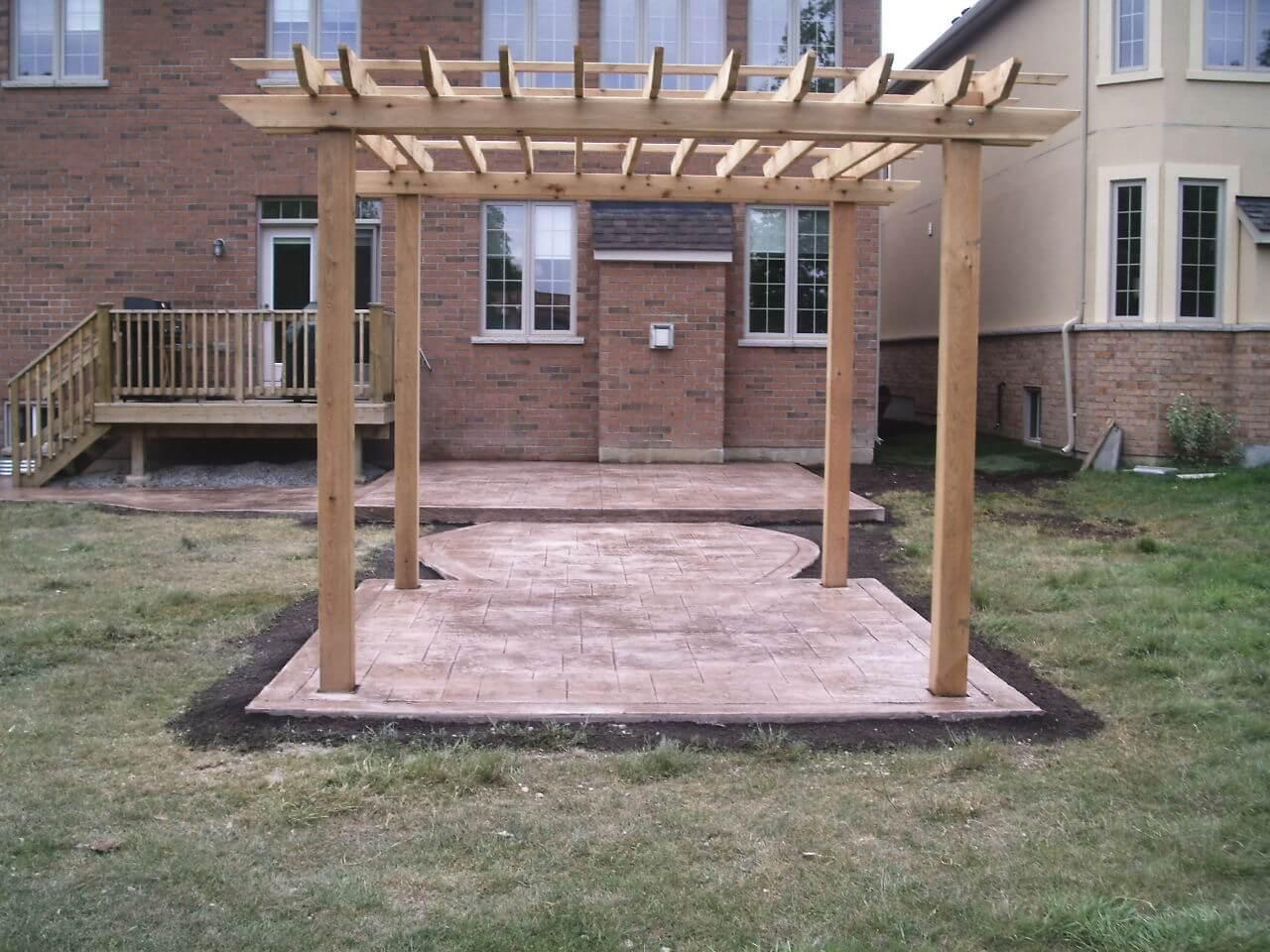 Stamped-Concrete-Construction-Contractor-Toronto-Pergola-Rd-57