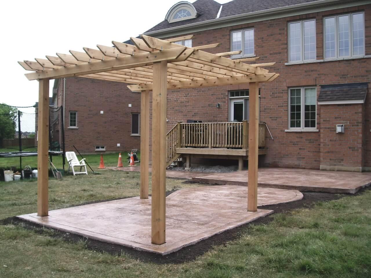 Stamped-Concrete-Construction-Contractor-Toronto-Pergola-Rd-58